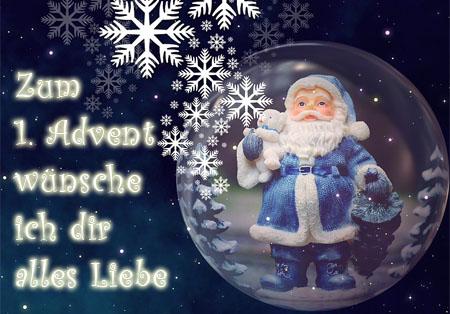 Weihnachtsmann zum 1. Advent