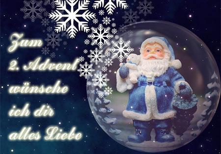 Grüße vom Nikolaus zum zweiten Advent