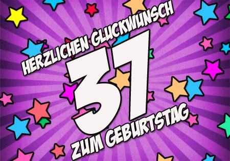 WhatsApp Bild zum 37. Geburtstag