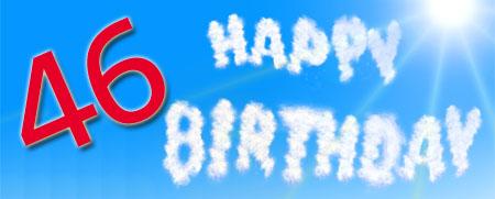 WhatsApp Glückwünsche zum 46. Geburtstag