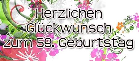59 Geburtstag Gluckwunscheund Spruche