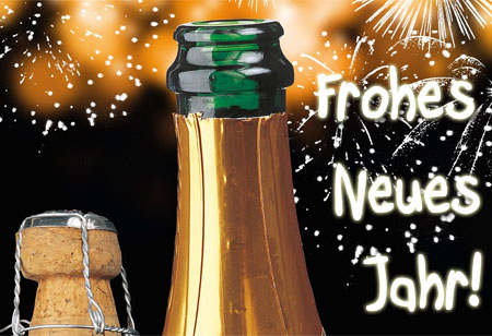 Champagner Gruß für 2016