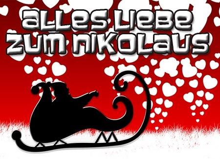 Alles Liebe zum Nikolaus für Facebook