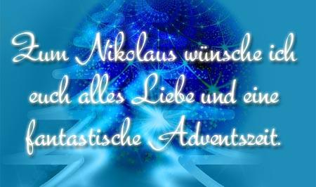 Schöne Grüße und Wünsche zu Nikolaus
