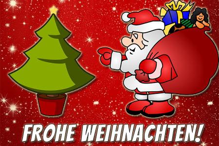 Weihnachtsgrüße für Kinder auf Facebook