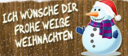Weiße Weihnachten für Facebook