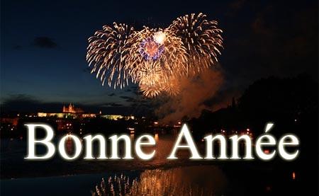 Französischer Neujahrsgruß Bonne Annee