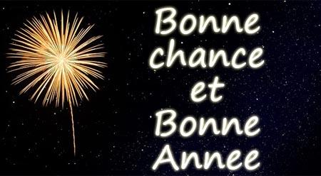 Viel Glück im neuen Jahr auf Französisch