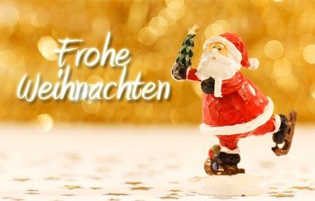 Frohe Weihnachten für die beste Freundin