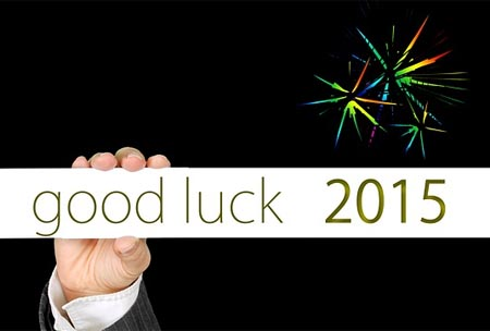 Good Luck in 2015