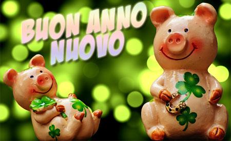 Viel Glück im neuen Jahr auf Italienisch