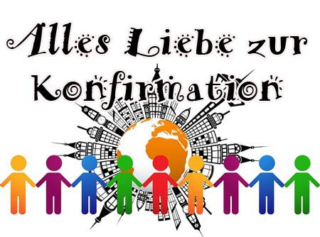 Konfirmationsgrüße für Kinder