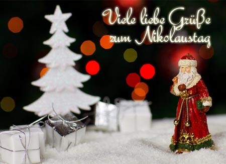 Liebe Grüße zum Nikolaus