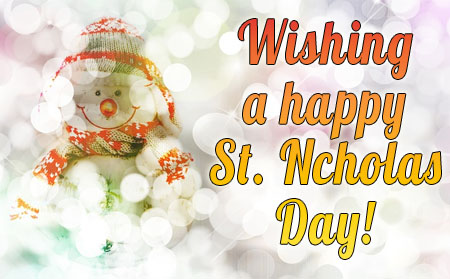 Snows sends Nicholas Wishes for WhatsApp