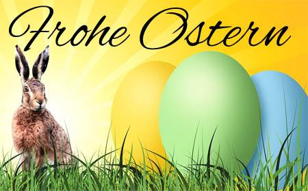 Osterhase zu Facebook