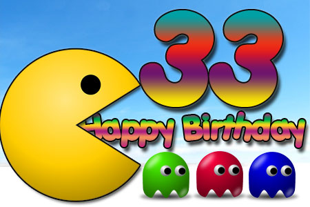 Gratualtion zum 33. Geburtstag für Nerds