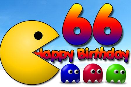 Pac Man kündigt 66 Jahre an