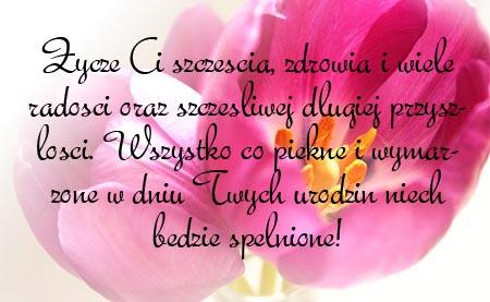 Geburtstag Spruch auf Polnisch