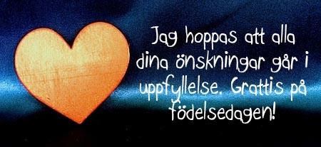 Mögen all deine Träume wahr werden auf Schwedisch