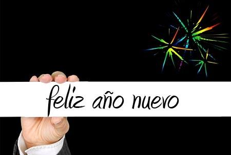 Frohes Neues Jahr auf Spanisch