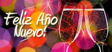 Guter Rutsch ins neue Jahr auf Spanisch