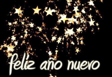 Lieben Gruß zum neuen Jahr auf Spanisch