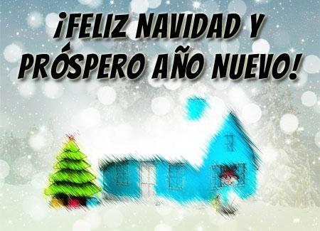 Schnee zu Weihnachten bringt auch auf Spanisch Freude