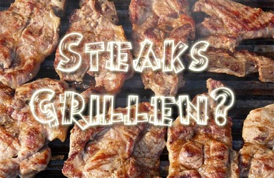 Steak Grillen Einladung