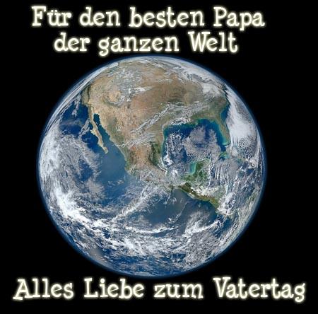 Wünsche für den besten Papa der Welt