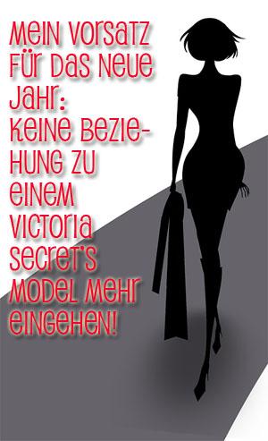 Keine Beziehung mehr zu Models!