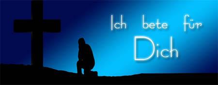 WhatsApp Spruch Ich bete für Dich