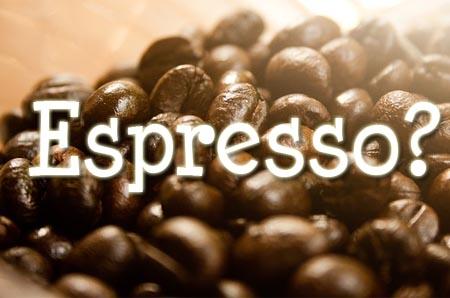 Einladung zum Espresso