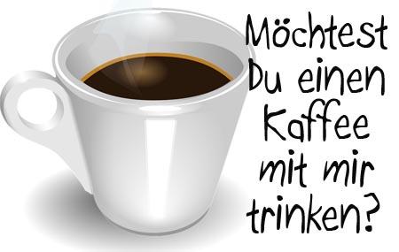 einladung zum kaffeetrinken für whatsapp oder facebook, Einladung