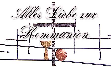 Christliche Kommunionswünsche