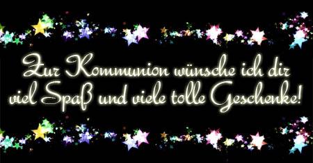 WhatsApp Kommunionsglückwünsche