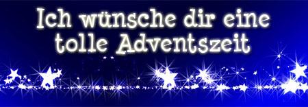 Ich wünsche eine tolle Adventszeit