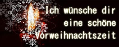 Vorweihnachtsliche Grüße
