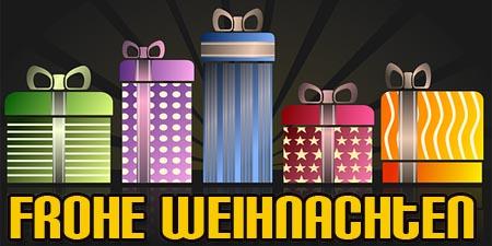 WhatsApp Weihnachtsgruß mit Geschenken