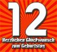 12. Geburtstag Sprüche