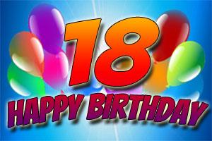 Bilder zum 18. Geburtstag