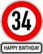 34. Geburtstag Sprüche