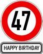 47. Geburtstag Sprüche