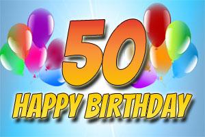Bilder zum 50. Geburtstag