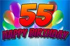 Grußbilder zum 55. Geburtstag