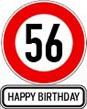 56. Geburtstag Glückwünsche