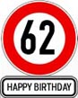 Sprüche zum 62. Geburtstag