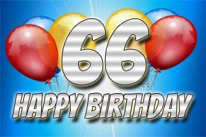 Bilder zum 66. Geburtstag