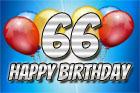 66. Geburtstag Sprüchebilder