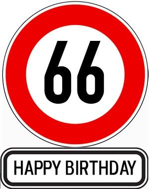 66. Geburtstag Glückwünsche