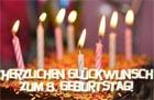 8. Geburtstag Sprüche